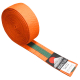 Judo pásek ke kimonu DUO oranžovo-zelený
