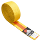 Judo pásek ke kimonu DUO žluto-oranžový