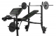 Posilovací lavice na bench press TUNTURI WB40 Compact Width Weight Bench lavice