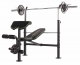 Posilovací lavice na bench press TUNTURI WB60 Olympic Width Weight Bench lavice