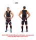 Zátěžová vesta DBX BUSHIDO 1-30 kg střih