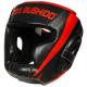 Boxerská helma DBX BUSHIDO červeno-černá 2