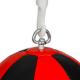 Reflexní míč, speedbag DBX BUSHIDO ARS-1164 černo-červený 1