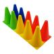 Plastové tréninkové kužely TUNTURI - 10 ks detail 2