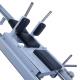 Legpress hacken a dřep kombinovaný na cihly čalounění