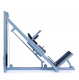 Legpress hacken a dřep kombinovaný na cihly hack bok
