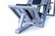 Legpress hacken a dřep kombinovaný na cihly nastavení platformy