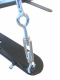Držák na boxovací pytel - šibenice PROFI otočný detail pojistek