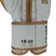 Boxerské rukavice kůže Royal BAIL bílé detail 2