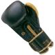 Boxerské rukavice kůže Royal BAIL černé zezadu