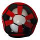 Boxerská přilba - kůže SPARRING - FIGHT BAIL červená zeshora