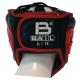 Boxerská přilba - kůže SPARRING - FIGHT BAIL černá zezadu
