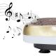 Vibrační deska HMS BS02 zlatá hudba