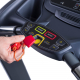 Běžecký pás Housefit SPIRO 40 iRUN bezpečnostní STOP pojistka