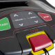 Běžecký pás FINNLO Maximum TR 8000 bezpečnostní stop pojistka