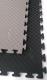 Tatami Taekwondo WTF oboustranné 100 x 100 x 2,5 cm šedo černá