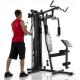 Posilovací věž  Hammer_Ferrum_TX2 cvik kladky triceps