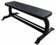 Posilovací lavice na bench press STRENGTHSHOP Posilovací lavice rovná Flat Bench - pohled