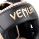 Chránič hlavy Elite černý zlatý VENUM detail logo