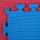 Tatami Economic 100 x 100 x 3 cm X-gym modro-červené detail