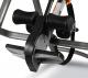 Posilovací lavice na záda BH Fitness Zero TOP G410 opěrka nohou