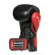 Boxerské rukavice BB1 - přírodní kůže DBX BUSHIDO omotávka