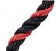 Tricepsové lano - krátké HARBINGER detail lano