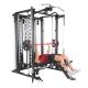 Posilovací lavice s kladkou FINNLO MAXIMUM SCS Smith Cage System - cvik bench-press 3