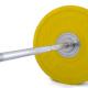 Olympijská činka TRINFIT Bumper CrossGym žlutá