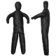 Tréninkový panák - figurína DBX BUSHIDO 120 cm - 15 kg pohled