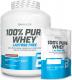 BIOTECH USA 100% Pure Whey Lactose Free 2270 g + vak + 454 g balení ZDARMA