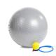 Gymnastický masážní míč HMS YB03 šedý