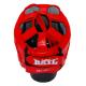 Boxerská přilba Standart BAIL červená horní