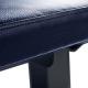 Posilovací lavice na jednoručky FITHAM Posilovací lavice rovná PROFI černá koženka