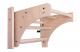 Závěsná hrazda dřevěná BenchK PB1 z boku