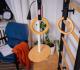 Příslušenství na žebřiny pro děti A23 houpačka a kruhy