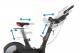 Cyklotrenažér HAMMER Speed Racer S nastavitelná řidítka a sedlo