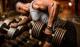 Trhačky - kožené HARBINGER workout