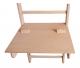 Dětský stoleček na žebřiny BenchK 110 zespodu