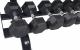 Tunturiodkládací stojan 3-řadý detail s činkami 2