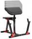 Posilovací lavice na jednoručky MARBO MH-L105 nastavitelná bicepsová opěrka