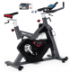Cyklotrenažér Flow Fitness DSB600i z profilu + app