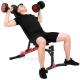 Posilovací lavice na břicho MARBO MH-L115 2.0 Cviky s jednoručkama