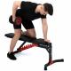 Posilovací lavice na břicho MARBO MH-L115 2.0 cvik na triceps