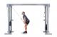 Kladkový stroj Protisměrná kladka s úzkou a širokou hrazdou FITHAM stahování kladky na triceps
