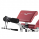 Posilovací lavice na bench press BH Fitness Optima Press Bench G330_bicepsová opěrka