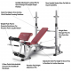 Posilovací lavice na bench press Bh FITNESS Optima Press Bench G330_popis