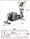 Eliptický trenažér BH Fitness SK9300 rozměry