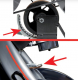 Cyklotrenažér BH Fitness i.Spada Racing brzdový systém