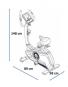 Rotoped Housefit TIRO 100 iTrain rozměry trenažéru